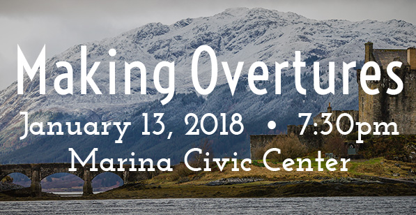Making Overtures concert graphic