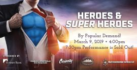 Heroes and Super Heroes Concert, Panama City FL
