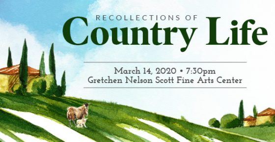 Recollections of Country Life - A music concert in Panama City FL